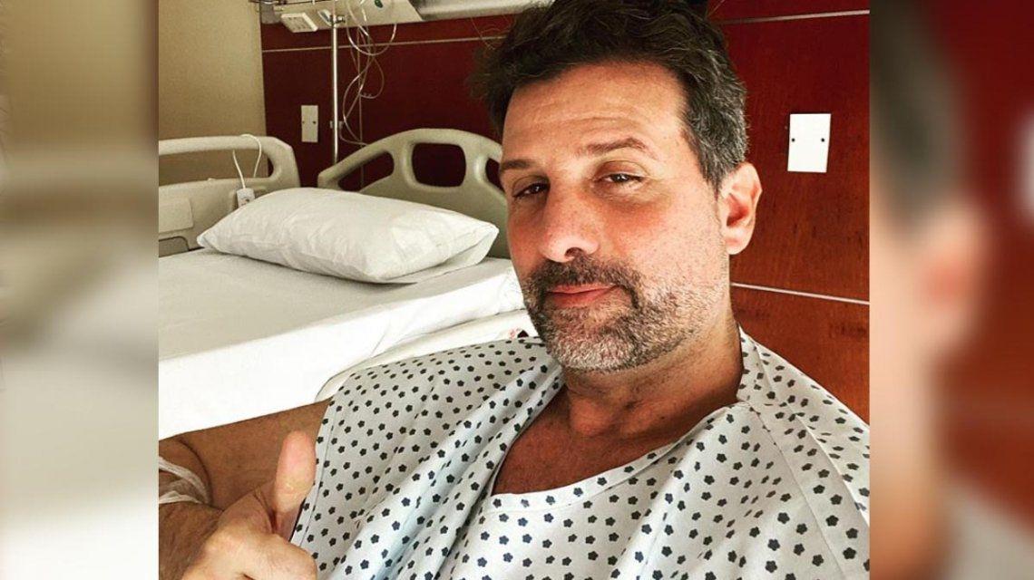 Desde el hospital, José María Listorti reveló la verdad sobre su salud