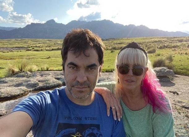 Las fotos de la escapada romántica de Valeria Lynch y Mariano Martínez