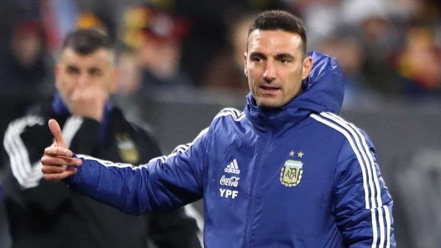 Scaloni y el Monumental: