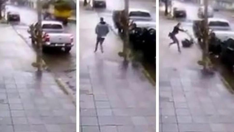 Hijo mató a ladrón que quería asaltar a su padre — Vídeo