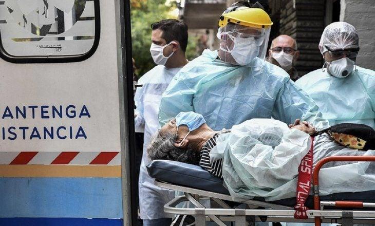Con récord de muertes, el país superó los 90 mil fallecidos