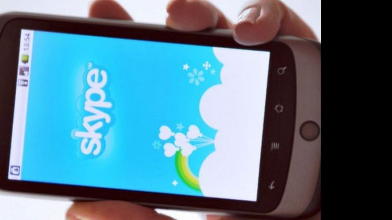 Skype gratis con Android