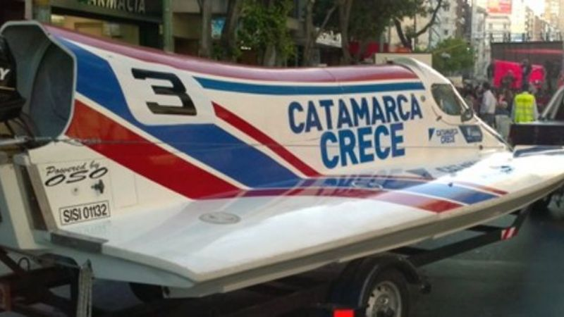 Catamarca recibirá a la F1 Power Boat