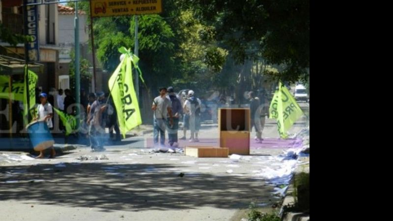 Violentos incidentes en la UOCRA de Zárate