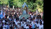 Comenzó la procesión de la Virgen del Valle