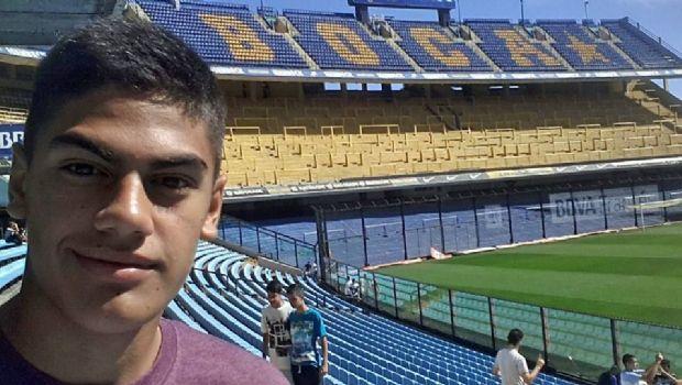 Joven belicho a un paso de convertirse en jugador de Boca