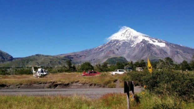 Un muerto tras una avalancha en el volcán Lanín