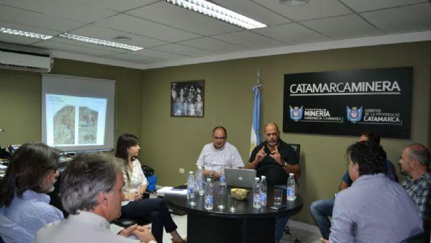 Yamana y Minería se reunieron para la puesta en marcha de Cerro Atajo
