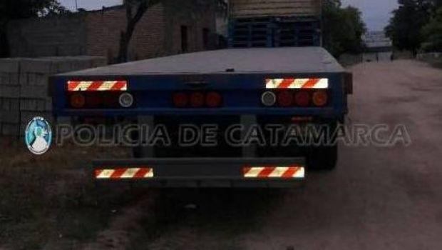 Recuperan un acoplado robado en Malbrán