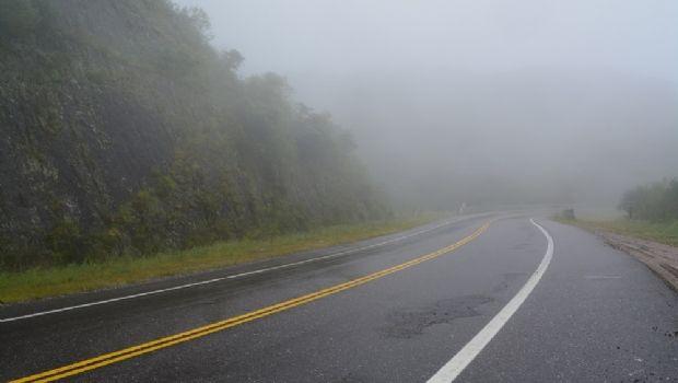 Totoral: precaución por presencia de niebla y llovizna