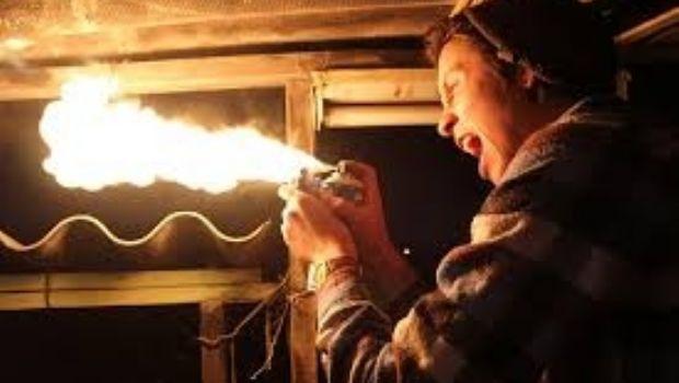 Drogado y alcoholizado intentó prender fuego la casa de sus padres