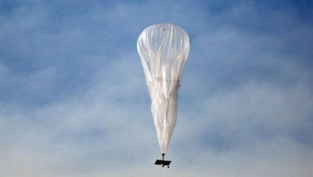 Un globo aerostático de Google surca el cielo de Catamarca