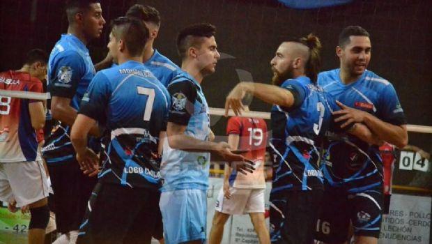 """Liga A2 de vóley: El """"Lobo"""" sigue cosechando víctimas en San Juan"""