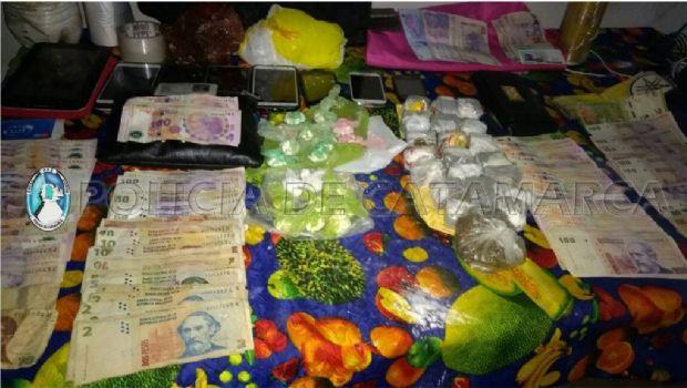 Desbaratan puntos de venta de drogas en el este y sur de la Capital