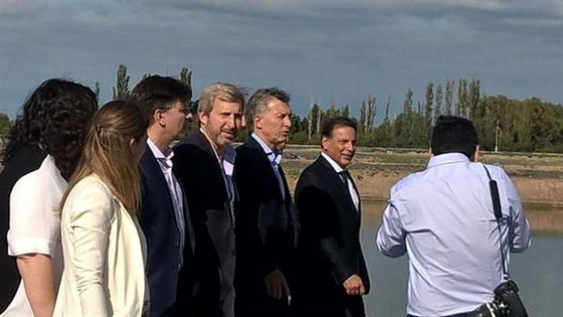 Macri llegó a San Luis para inaugurar obras, pero no se verá con Rodríguez Saá