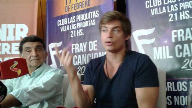 """Carlos Baute: """"Estar en Catamarca me acerca a su cultura"""""""