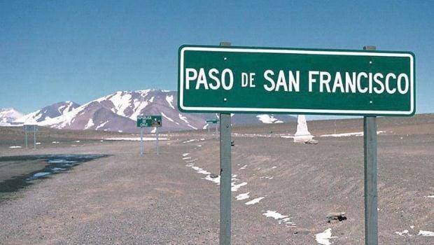 El Paso de San Francisco, cerrado temporalmente