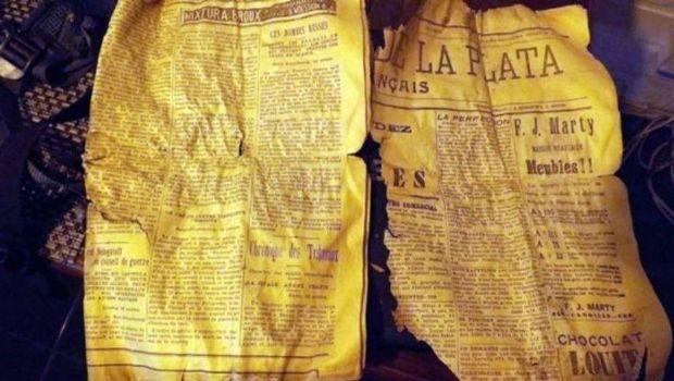 Un montañista encontró un diario de 1908 en medio de los Andes