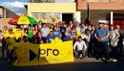 El PRO  inauguró sede en Santa  María