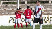 Independiente fue goleado por Tesorieri en La Rioja