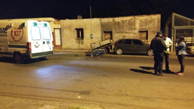Motociclista perdió la vida en trágico accidente