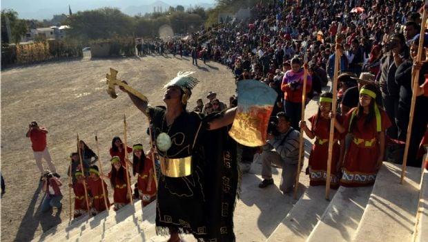 Presentan la Fiesta del Inti Raymi en Buenos Aires
