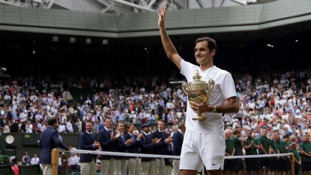 Roger Federer conquistó su  octavo título en Wimbledon