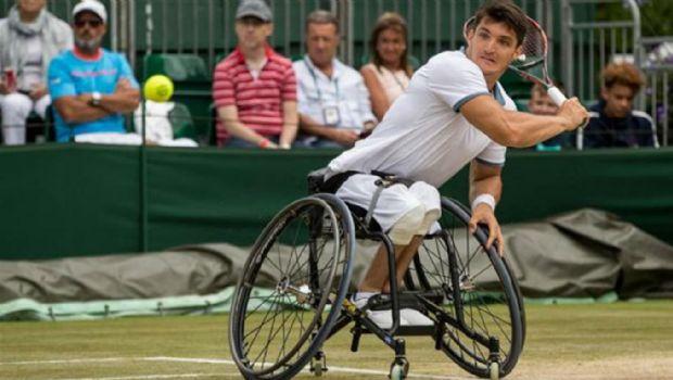 Gustavo Fernández perdió en la final de tenis adaptado