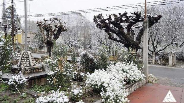 Se registraron intensas nevadas y frío polar durante el fin de semana
