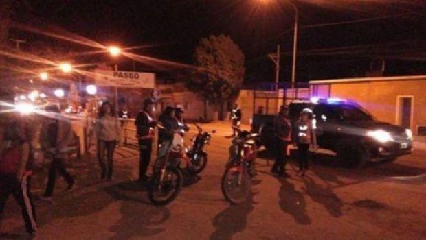 Trece jóvenes fueron detenidos por no llevar el DNI