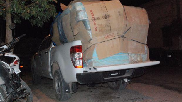 Dádivas: detienen camionetas con votos y mercaderías en Fiambalá