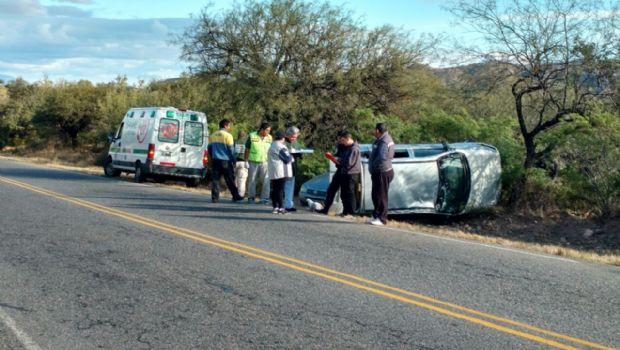 Vuelco y choque en Pirquitas: hay varios heridos