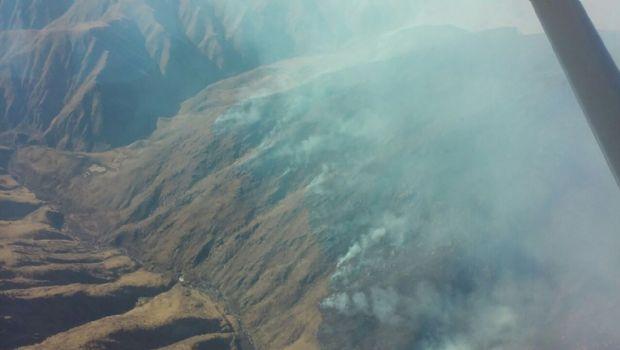 El incendio forestal de Los Ángeles consumió más de mil hectáreas