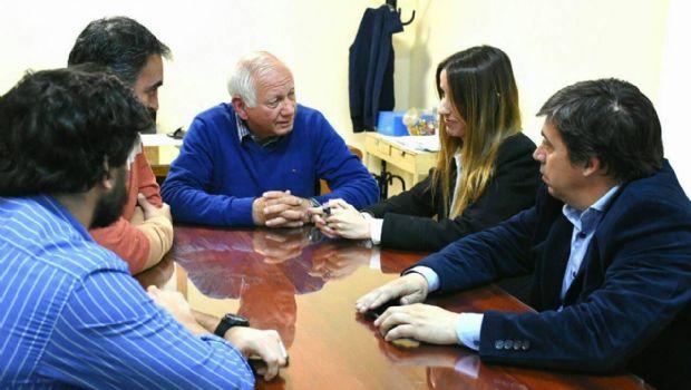 Nación financiará iluminación y asfaltado en Valle Viejo