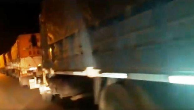 """Sugerente """"convoy"""" encendió las alarmas en Belén por posible entrega de dádivas"""