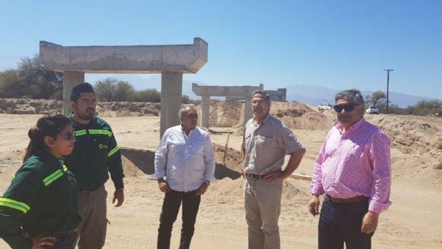 Naranjo inspeccionó la obra de la Ruta Nº 46 Andalgalá- Belén