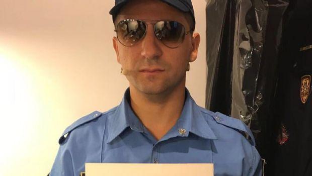 El Oficial Gordillo se puso serio