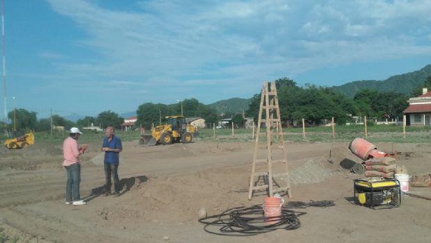 Avanzan los trabajos en la terminal de Capayán