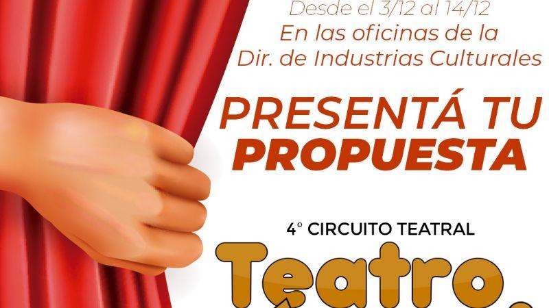 """Cultura lanza el """"4° Circuito de Teatro Va"""""""
