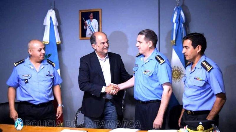 Asumió el nuevo Subjefe de Policía