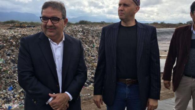 Jalil acompañó a un ministro de Cambiemos durante su recorrida por la provincia