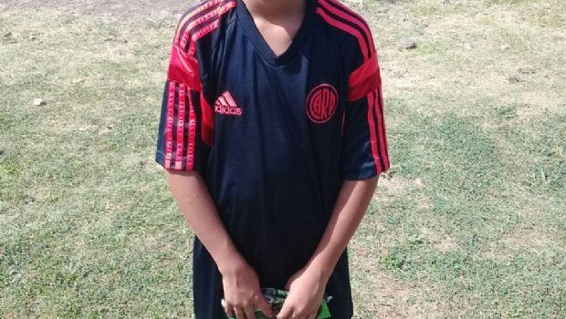 Geremías Chazarreta se sumó a River Plate