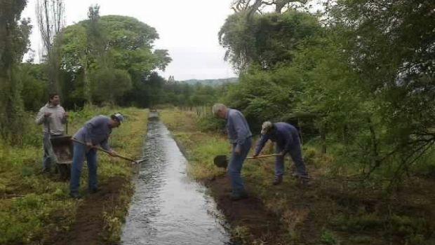 Estiman que las obras de riego en Pomán finalizarán a mediados de año
