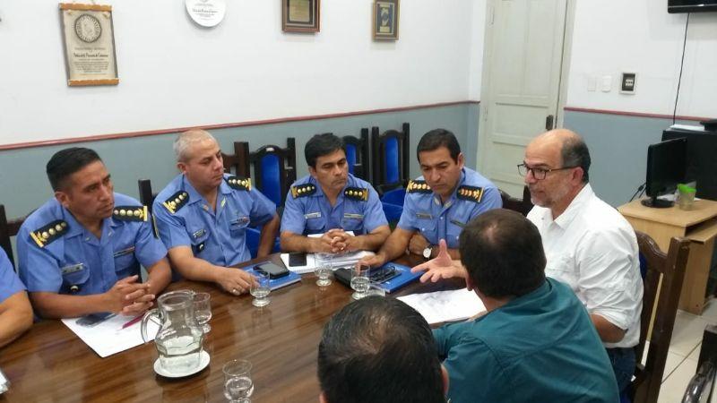 """Reunión clave: Coordinan el """"Plan de Seguridad  Provincial 2019"""""""