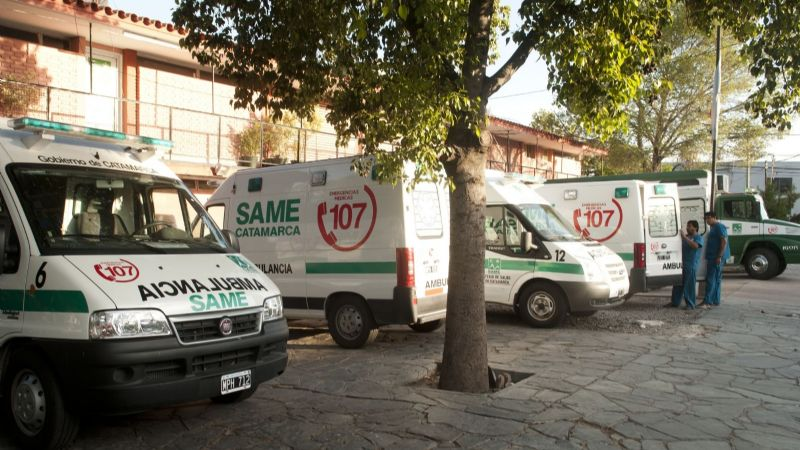 Arrestado por intentar robar en el edificio del SAME