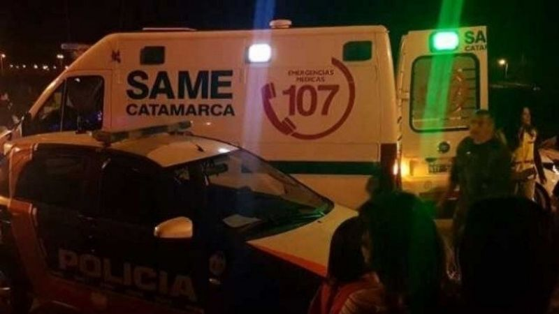 Dos jóvenes fallecieron luego de un siniestro vial en Valle Viejo