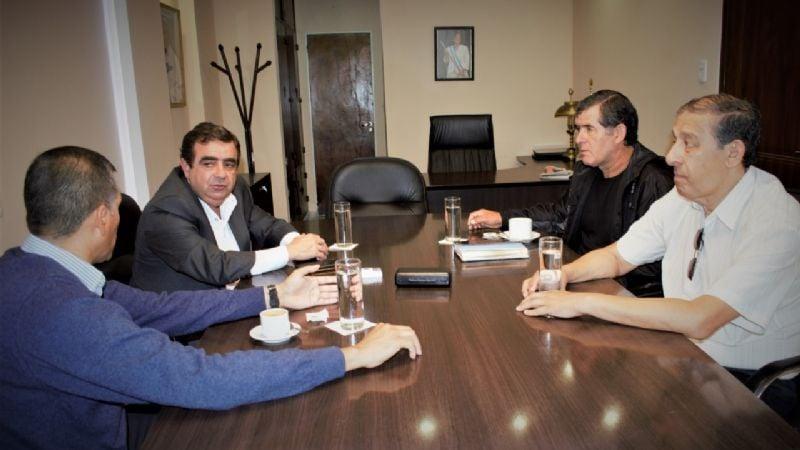 Fernando Jalil, recibió las autoridades de ASOCAT