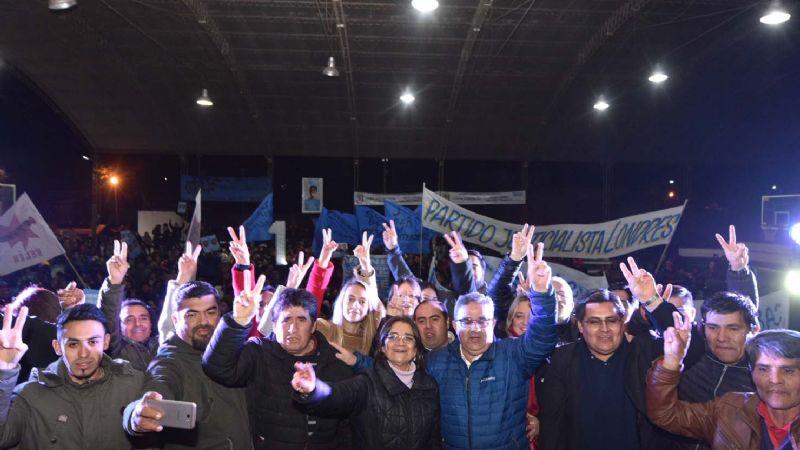 Gran cierre de campaña del Frente de Todos en Belén
