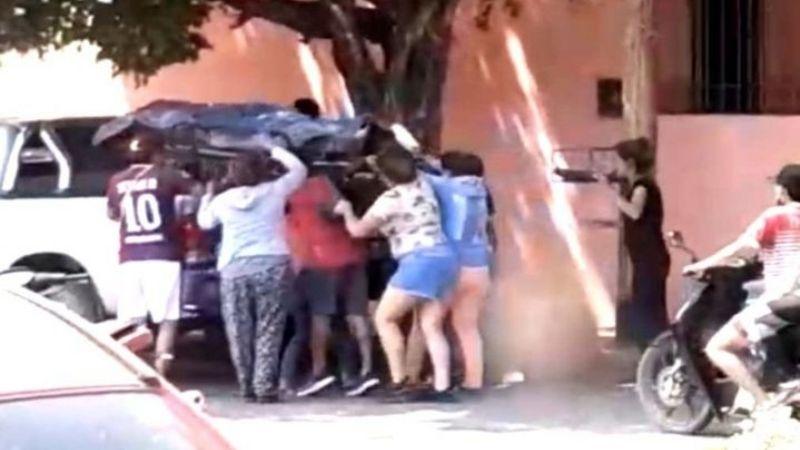 Salta: Sacaron el cuerpo de una morgue y se lo llevaron en una camioneta