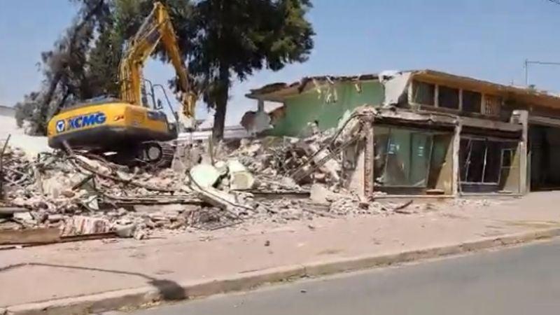 VIDEO: Manzana del Turismo, más de medio siglo de historia bajo los escombros